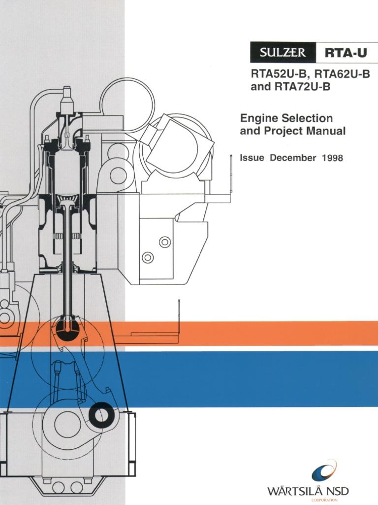 rta62u b turbocharger engines rh scribd com Biggest Engine in the World Wartsila Engine