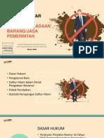 PPT Daftar Hitam - Kebijakan v.4