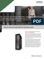 1 Hitachi Vsp Midrange Family Overview Brochure