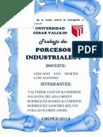 Informe Del Manjar Blanco