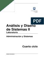 Manual 2016-I 04 Análisis y Diseño de Sistemas II
