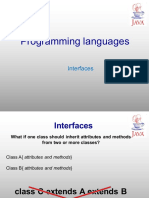9 - Interfaces - JAVA