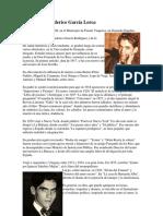 6 Biografía de Federico García Lorca