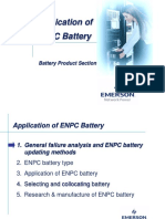 Application of Emerson Battery