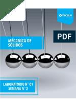 Mecánica de Sólidos Laboratorio 0.2