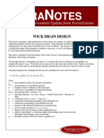 Wick Drains Terra Systems Design