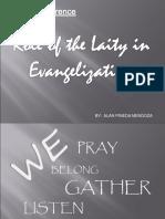Laity in Evangelization