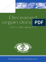 Deceased Organ Donation