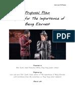 english creative task 2  proposal