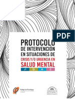 Protocolo de Intervención en Crisis