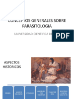 Conceptos Generales Sobre Parasitologia