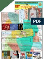 Poster Malaria, Bidang PRL Tahun 2010