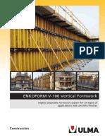 Catalogue Enkoform v-100 En