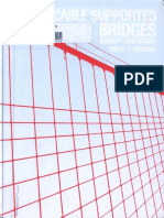 Cable Supported Bridges Concept and Design 1st Ed