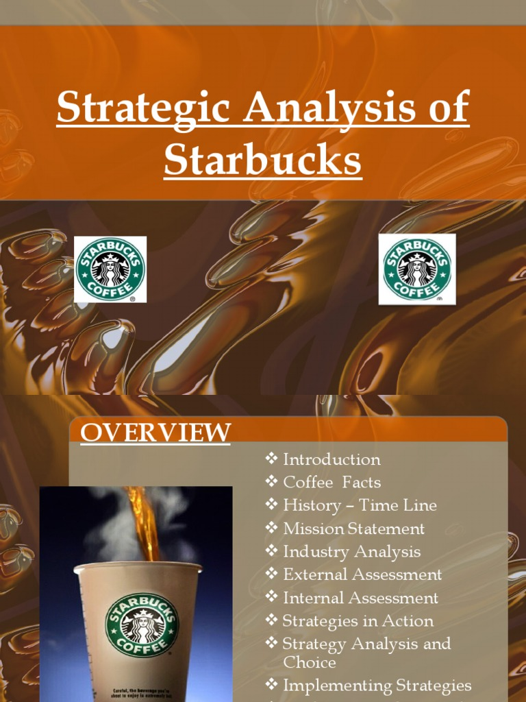 an analysis of starbucks
