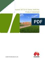 Datasheet Switch Huawei S6720-SI Series