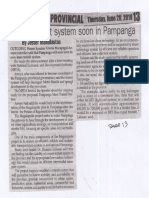 Peoples Journal, June 20, 2019, Mass transit system soon in Pampanga.pdf