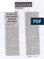 Philippine Daily Inquirer, June 20, 2019, As POC eyes seag control, Presiden questioned.pdf