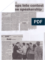 Philippine Star, June 20, 2019, Rody steps into contest for House speakership.pdf