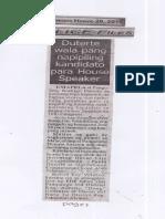 Police Files, June 20, 2019, Duterte wala pang napipiling kandidato para House Speaker.pdf