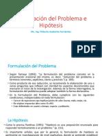 hipotesis y problematica
