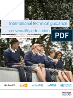 International Technical Guidance on Sexuality Education - UNESCO