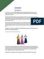 Fungsi Pakaian Dalam Ajaran Islam