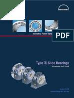 RENK Slide Bearings Type E-Series EG ER