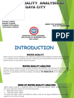 water quality analysis report
