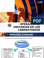 2. Operaciones Unitarias en Los Laboratorios