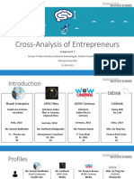 Group 4_Assignment_3_Presentation of Cross-Analysis of Projects
