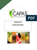 Manual Cocina Nacional