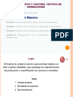 u2 Plan Maestro
