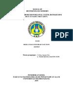 makalah bioteknologi biokimia