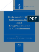 Osteoarthritis, Inflammation and Degradation