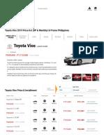 Toyota Vios 2019 Price list (DP & Monthly) & Promo Philippines _ Priceprice.com.pdf