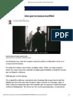 Historias Que Ya Nunca Escribiré, Por Plàcid Garcia-Planas