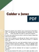 Calder v Jones