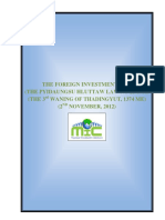 2012 Foreign Investment Law (E+M)