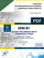 01_Kebijakan Nasional SPM-Dikti Dan SPMI 2018(1)