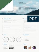 Download Contoh CV Kreatif Pdf Doc Timeline pdf.pdf