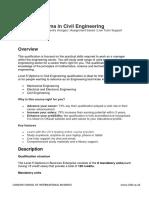 Level 5 Diploma in Civil Engineering