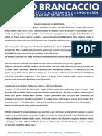 Presentazione Stagione 2019-2020
