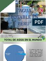 Agua Potable en El Peru