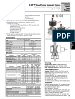 Asco Low Power Series h Valves Catalog
