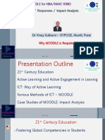 Why MOODLE is Required