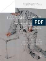 Land and Credit - Mortgages in the Medieval and Early Modern European Countryside