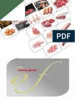 Catalog Meat in Spanish-English
