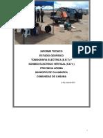 Cañuma Informe Final