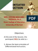 Presentation DI by Evelyn Vicencio